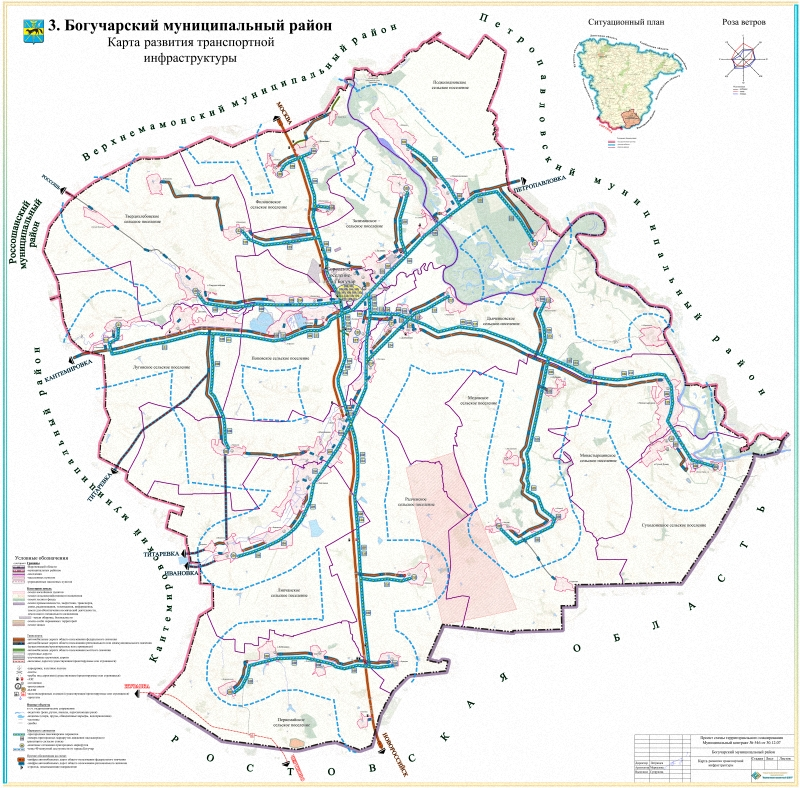 Схема развития транспортной
